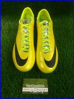 Nike Mercurial Vapor IX FG Fast Forward Yellow Green'06 Superfly BNIB Sz 11