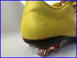 Nike Mercurial Vapor Superfly Fg Vibrant Yellow Black Sz 6.5 Made In Italy