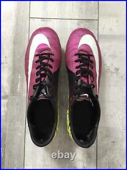 Nike Mercurial Vapor Superfly III FG 441972 547 Cleats Purple US 10 UK 9 Carbon