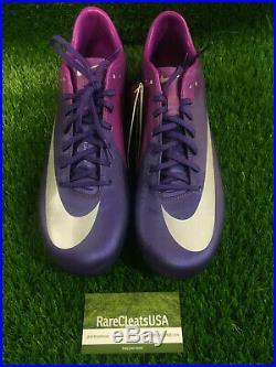 Nike Mercurial Vapor Superfly III FG Purple Carbon Fiber Ronaldo CR7 BNIB Sz 11