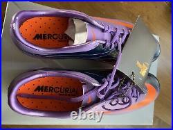 Nike Mercurial Vapor Superfly II 2 FG US7.5 396126 311 Elite carbon cr7 ronaldo