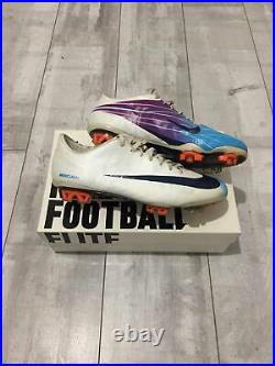 Nike Mercurial Vapor Superfly II Cleats Soccer Football US 9.5 UK 8.5 EUR 43