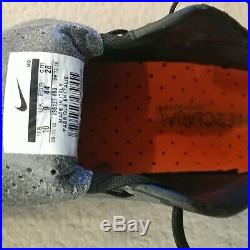 Nike Mercurial Vapor Superfly II I FG BLACK ORANGE 10 US 9 UK USED RARE CR7
