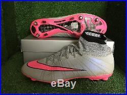Nike Mercurial Vapor Superfly IV Fg Uk 9 Us 10 Acc Chrome Football