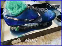 Nike Mercurial Vapor Superfly IX CR7 Galaxy Chrome Sample. BNIB Size 8uk/9us