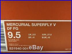 Nike Mercurial Vapor Superfly V FG Sz9.5 Academy
