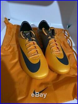 Nike Mercurial Vapor VII Fg Orange Sz 9 441976-547 Plum Superfly Cr7 Elite R9