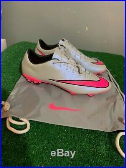 Nike Mercurial Vapor X Grey Pink Fg Sz 11 648553-060 Acc 2 Neymar Superfly
