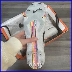 Nike Superfly 6 Elite Fg Pure Platinum/multi Level Up Size Uk8 Us9 Eur42.5