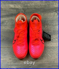 Nike Superfly 7 Elite Soccer Cleats Size 10.5 IC Indoor Court Red (AT7982-606)