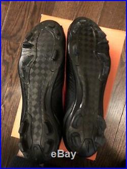 Nike mercurial Vapor IV SL black out Carbon Fibre Sample Superfly iii 10 US