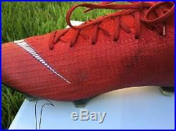 Nike mercurial superfly 360 elite Custom Designed Cleats 9.5 Red