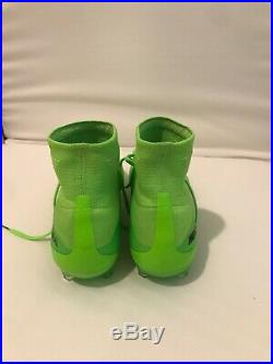 Nike mercurial superfly size 10 Slime Green Brand New
