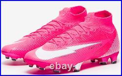 Nike soccer cleats Mercurial superfly VII Elite FG x Mbappe Pink US 11.5 / EUR45