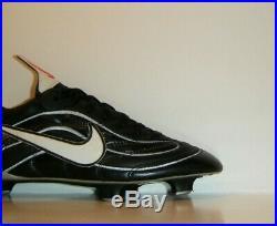 OG Vtg 1998 Nike Mercurial Vapor I 1 R9 Sample Cleats Sz. 7.5 Black Superfly CR7