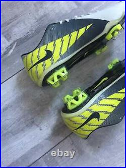 RARE Nike Mercurial Vapor Superfly III FG Cleats Carbon US 8.5 UK 7.5 EUR 42