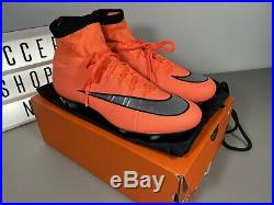 Rare Nike Mercurial Superfly IV FG Mango ACC Size 10.5 641858-803 CR7