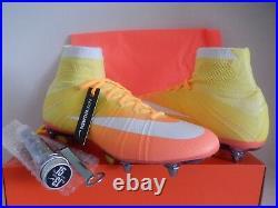 Wmns Nike Mercurial Superfly Sg Pro Mango Sz 10.5 Womens/mens Sz 9 749698-800